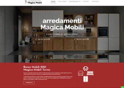 Showroom Arredamento Magica Mobili
